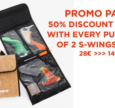 Promo Pack :: 50% discount S-wings Finbag with Purchase of 2 Fins / Sets