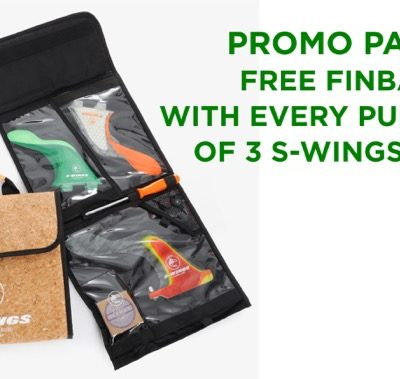 Promo Pack :: Free S-wings Finbag with Purchase of 3 Fins / Sets